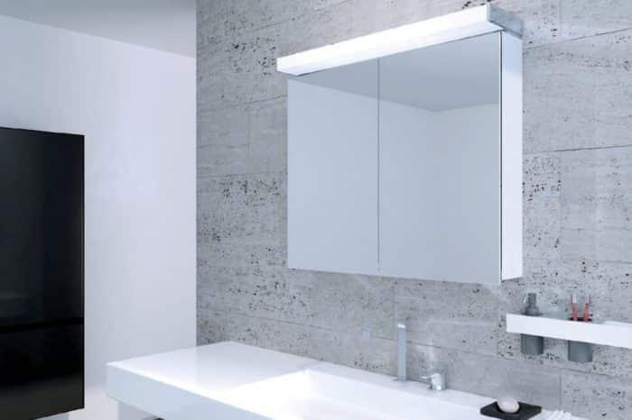 Miroir armoire toilette Keller 1