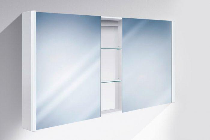 Miroir armoire toilette lumara led 3 130of Sidler