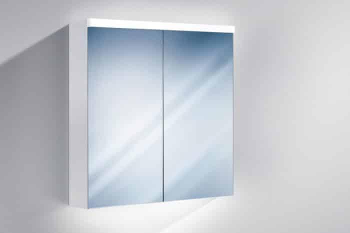 Miroir armoire toilette xamo led 2 80 Sidler