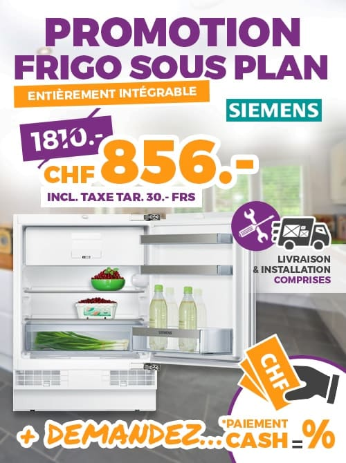 promotion frigo sous plan ok chez vous. Black Bedroom Furniture Sets. Home Design Ideas