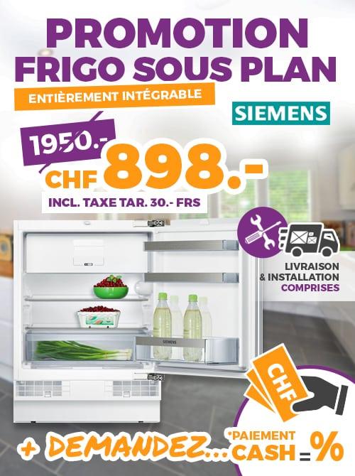 promotion frigo sous plan ok chez vous. Black Bedroom Furniture Sets. Home Design Ideas