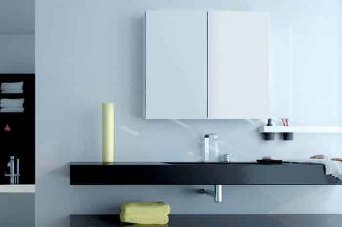 Miroir armoire toilette Keller 3