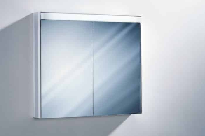 Miroir armoire toilette teramo 80er Sidler