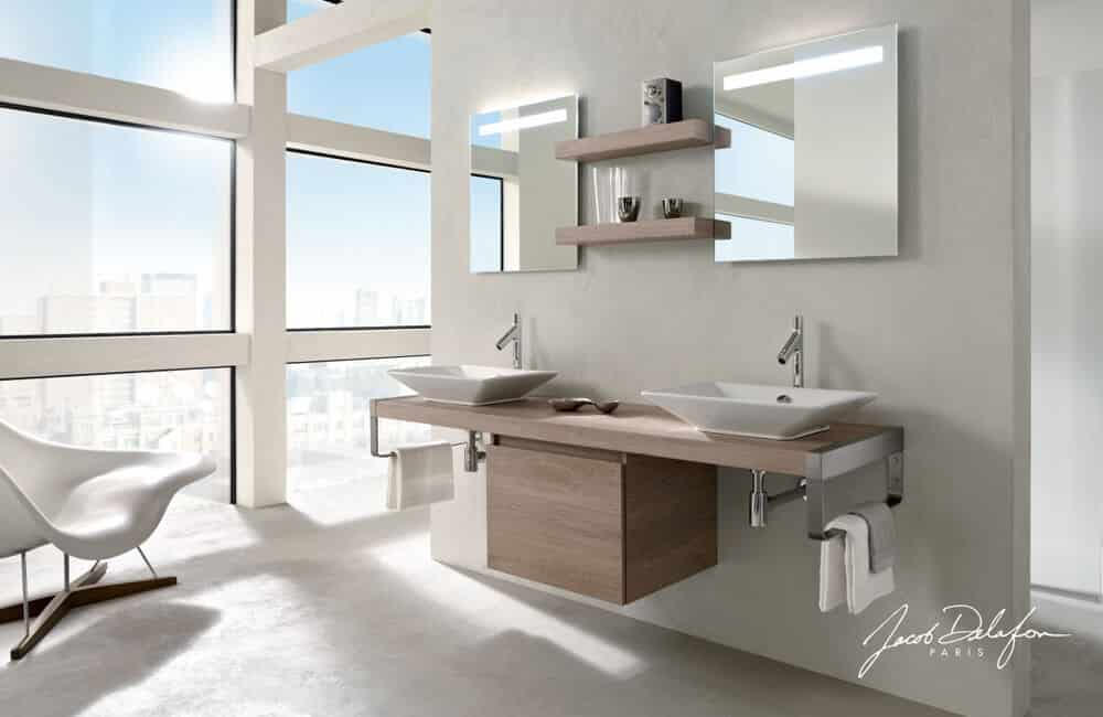 meuble salle de bain Jacob Delafon 1