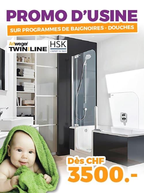 ok chez vous promo usine baignoires douches