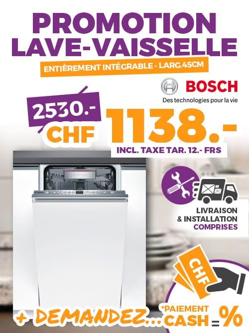 super mignon ebd7e 6c128 Promotion Lave-Vaisselle intégrable marque BOSH | Ok Chez Vous